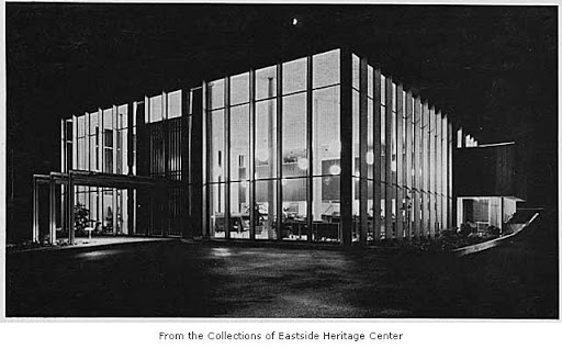 Washington State Bank, Bellevue WA, circa 1956.  Eastside Heritage Center Image 1995.124.01, used by permission. http://content.lib.washington.edu/u?/imlseastside,63