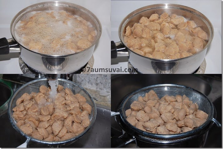 how to cook Soya chunks / soya nuggets