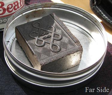 Tea in a brick