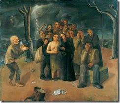 Felix Nussbaum - The storm, The exiles 1941