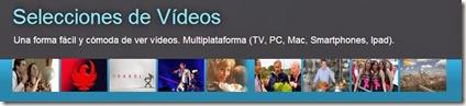 Selecciones de vídeos