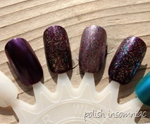 Nicole by OPI Khardashian Kolors Holiday Glitter and Shimmer 3