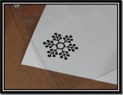 Tutorial - Glitter Glue Snowflake 2