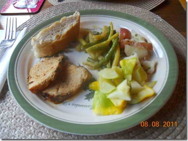 Dinner plate in Michigan