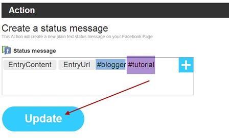 ifttt-status-messagge