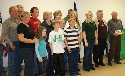 TThree generations of the Robert and Janet Spenner family of Riverside - 4-H Family of the Year.  Photo Courtesy:  Washington County Extension.