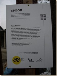 Borgloon, Stationsplein: Kunst!