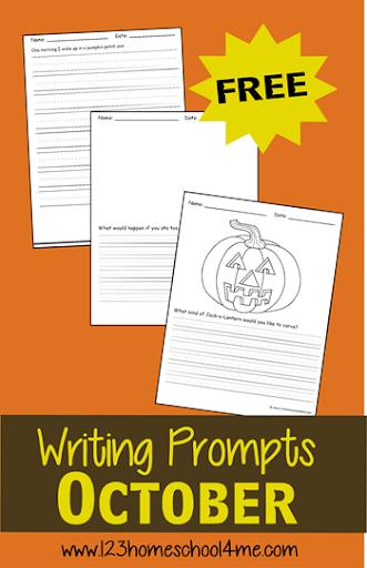 4th grade creative writing prompt