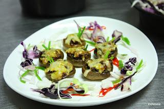 hors - Stuffed Mushroom