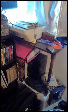 shelf messy