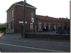 Opheers, Opheersstraat 98: voormalig gemeentehuis en school