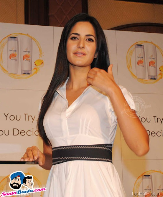 Katrina Kaif Hot Stills in White Stylish Dress 4