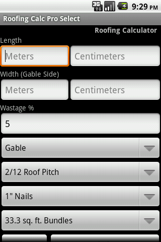 Roofing Calc Pro Select