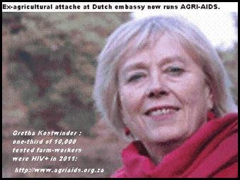 GRETHA KOSTWINDER DUTCH FOUNDER AGRIAIDS SOUTH AFRICA