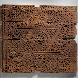 Panel, cAbbasid period (750–1258), early 9th century Iraq, Takrit Wood (teak), carved Panel, cAbbasid period (750–1258), early 9th century Iraq, Takrit Wood (teak), carved