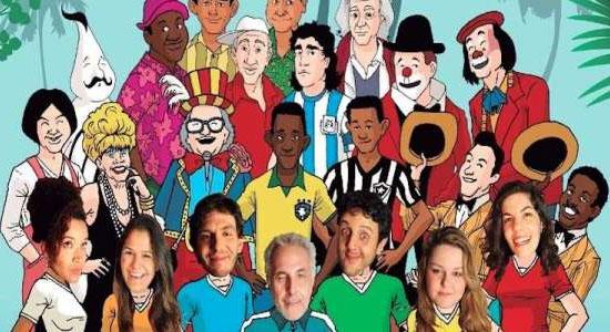 """Economize 53% em Ingresso para o Espetáculo """"Comédia Futebol Clube"""" na Sala Palma de Ouro"""
