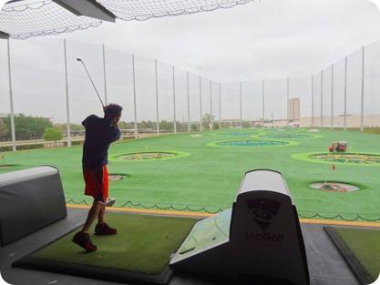 nick golfing