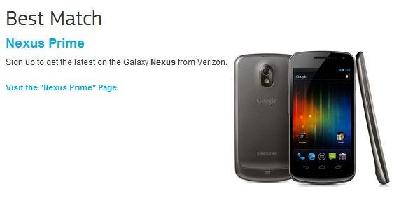Nexus Prime 1 samsung