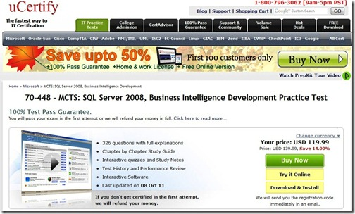 0 uCertify HomePage