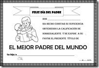 mejor padre diploma S 1