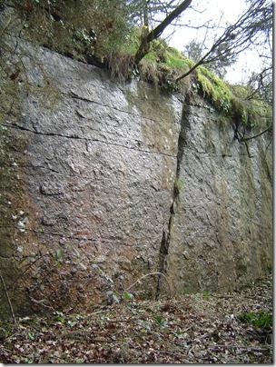 Ancienne carrière de granit à La Ménardais