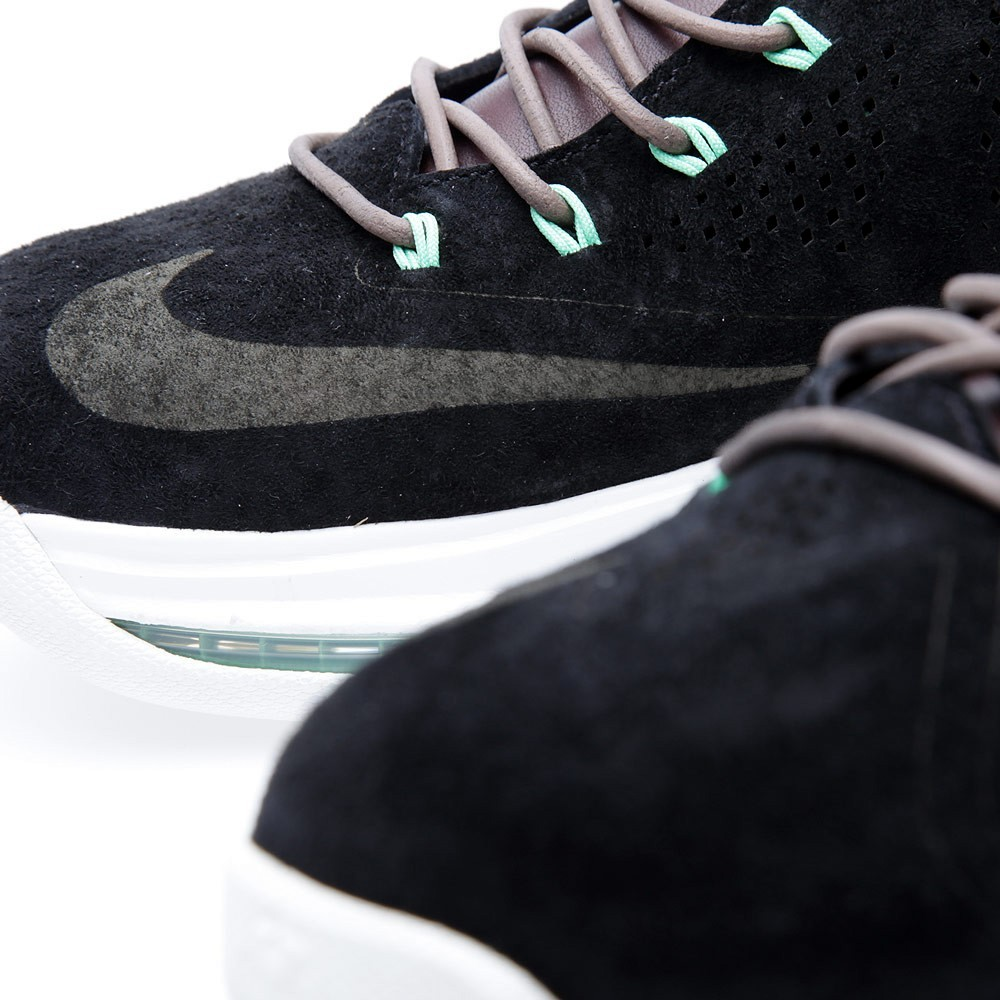 ... Release Reminder Nike LeBron X EXT Black Suede Mint ...