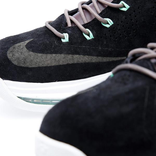 Release Reminder Nike LeBron X EXT Black Suede  Mint