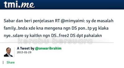 DS Anwar Sabar Menjawab Pelbagai Soalan Di Twitter