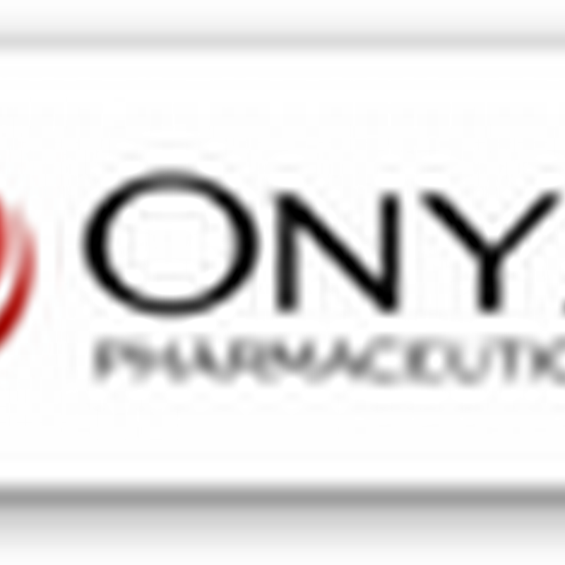 Carfilzomib From Onyx Gets FDA Approval for Treating Multiple Myeloma  For Patients Who Have Had Prior Treatments
