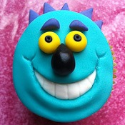 Friendly Monster Cupcake