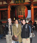 At Senso-Ji Temple with Masako