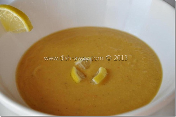 Red Lentil Soup Middle Eastern Style Recipe