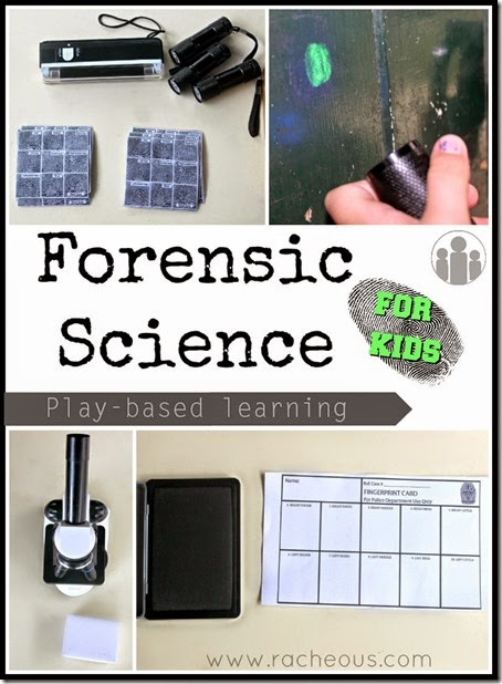 Become a Detective with Homeschool Forensic Science Activity #science #homeschooling