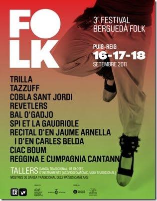 Berguedá folk 2011 3 edición