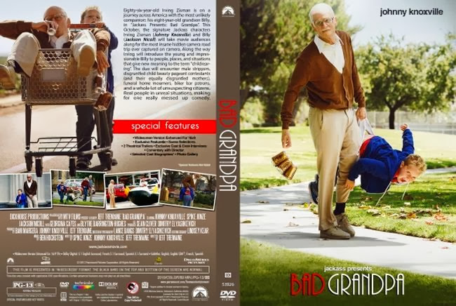 Jackass Presents Bad Grandpa     LatinoBad Grandpa Dvd Cover