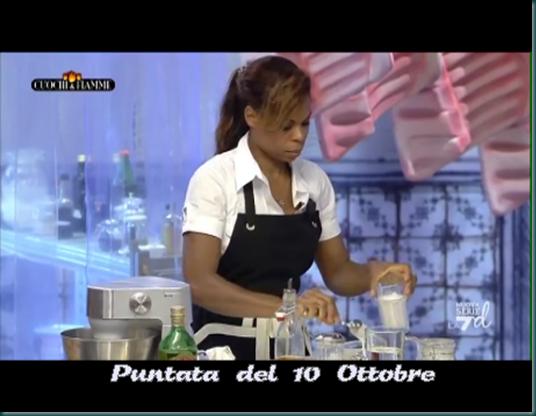 Mary Valeriano Cuochi e Fiamme TV ricette