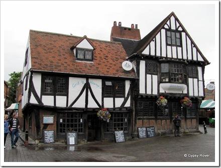 Gert & Henry's pub near The Shambles, York.