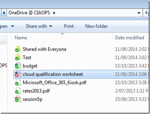 CIAOPS: Working with OneDrive for Business offline