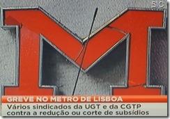 Greve do Metro inicia confluência CGTP - UGT (novo líder). Mai.2013