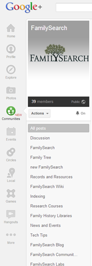 google _communities_familysearch