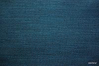 Ognioodporna tkanina dekoracyjna. Na zasłony, narzuty, poduszki, dekoracje. Styl naturalny, lniany. Granatowa.