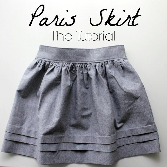 Париж юбка Учебник