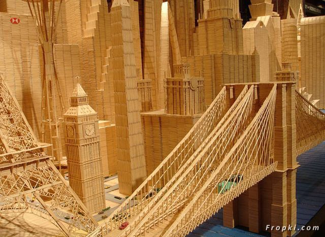 City of Toothpicks by Stan Munro
