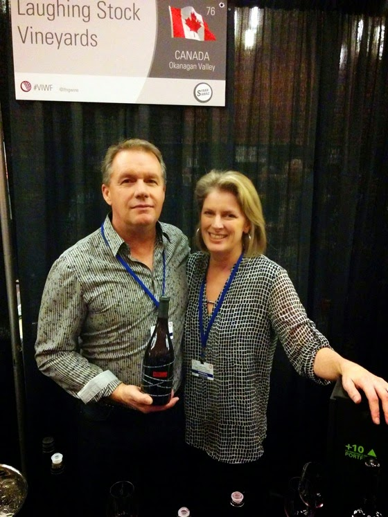 David & Cynthia Enns are rightfully proud of their Osoyoos Syrah