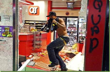 shopping in ferguson