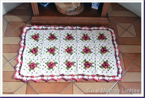 Tapete Croche Flor 1d