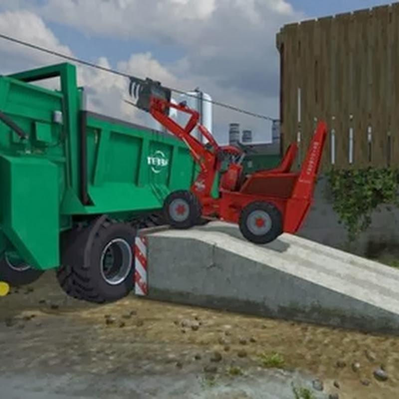 Farming simulator 2013 - Placeable ramp v 1.0