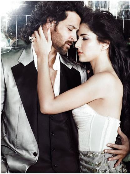 Katrina Kaif Hot Photos with Hrithik in Magazine 2