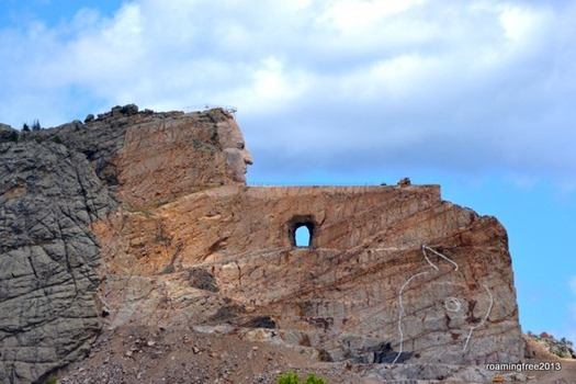 Crazy Horse . . . this is as close as we got!