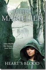 book cover of Heart's Blood by Juliet Marillier